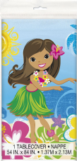 Luau Hula Beach Summer Party Plastic Tablecover